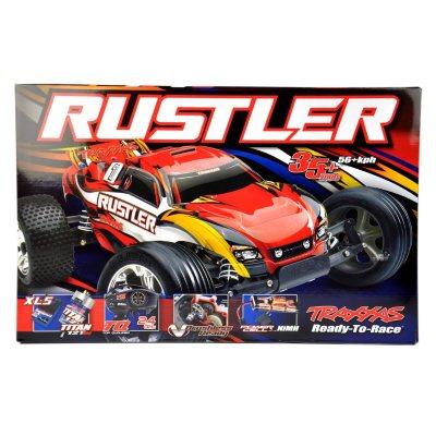 Traxxas Rustler W/XL-5 ESC Stadium Truck, Black.  Ends: Sep 19, 2014 5:40:00 PM CDT