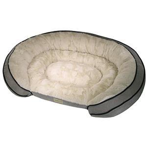Poochplanet Grand Comfort Gel Bolster Dog Bed