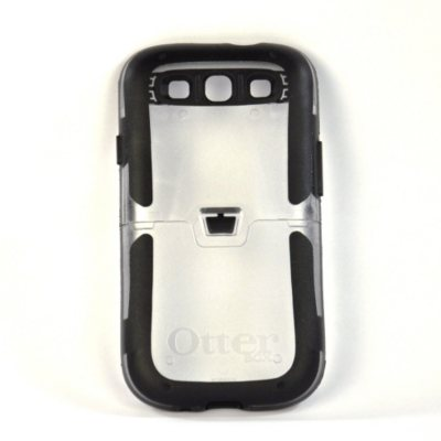OtterBox Reflex Case for Samsung Galaxy S III, Clear/Black.  Ends: Aug 23, 2014 9:00:00 PM CDT
