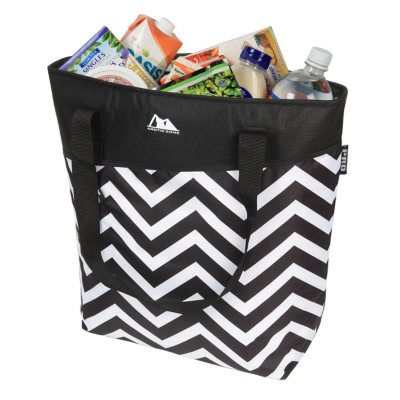 High Performance Thermal Tote, Grey Flowers.  Ends: Sep 2, 2014 8:40:00 PM CDT