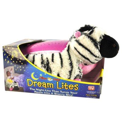 DreamLites Pillow Pet, Zippity Zebra.  Ends: Oct 25, 2014 8:25:00 AM CDT