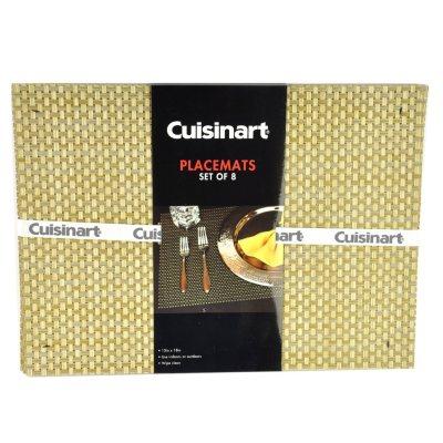 Cuisinart Placemats, Tan (Set of 8).  Ends: Nov 25, 2014 1:10:00 AM CST