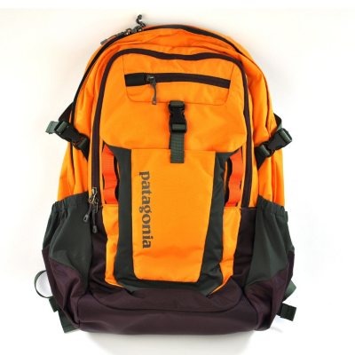 Patagonia Fuego Backpack, Orange & Maroon.  Ends: Oct 21, 2014 6:15:00 AM CDT