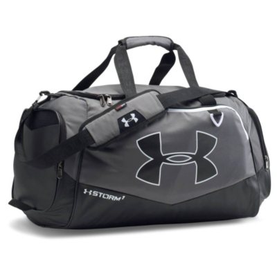 Under Armour Storm Undeniable II Medium Duffle Bag, Gray/Black