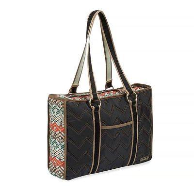 cinda b 'Horizontal II' Tote Bag, Ravinia Black