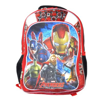 Marvel Avengers Backpack by Fast Forward.  Ends: May 31, 2016 6:55:00 PM CDT