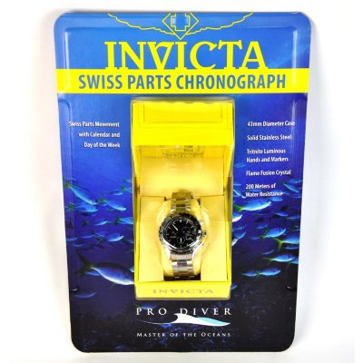 Invicta Pro Diver Watch - Black