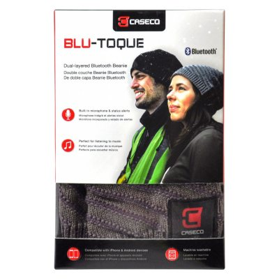 Blu-Toque Bluetooth Beanie.  Ends: Jul 29, 2016 5:00:00 PM CDT