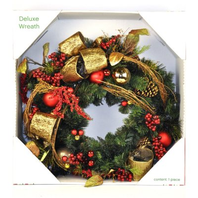 Designer Holiday Wreath, Traditional (30 in.).  Ends: Mar 10, 2014 5:50:00 PM CDT