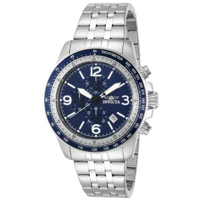 Invicta Men's Sport Chrono Watch with Blue Dial.  Ends: Nov 1, 2014 9:50:00 AM CDT