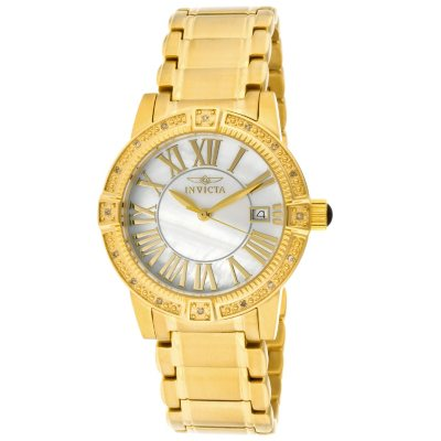 Invicta Women's Roman Angel Watch in Gold Tone