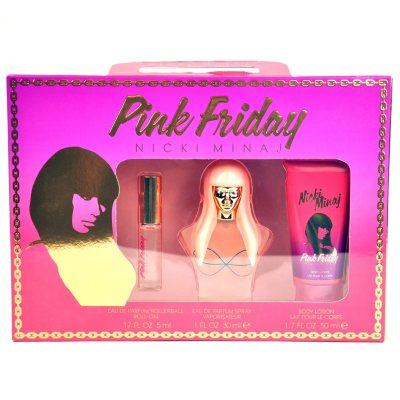 Nicki Minaj Pink Friday Perfume Gift Set (3 Pc.)
