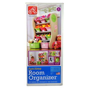 Step2 Fun Time Room Organizer Hot Pink Green Soft Pink