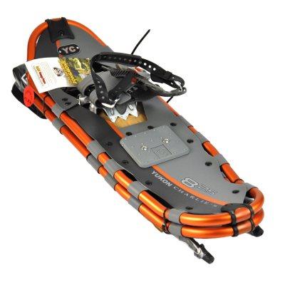 Yukon Charlie Orange Snowshoe Kit.  Ends: Mar 5, 2015 2:35:00 PM CST