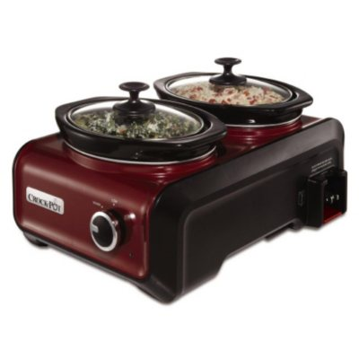 Crock-Pot Hook Up Connectable Entertaining System, Red (2qt.).  Ends: Mar 5, 2015 1:00:00 PM CST