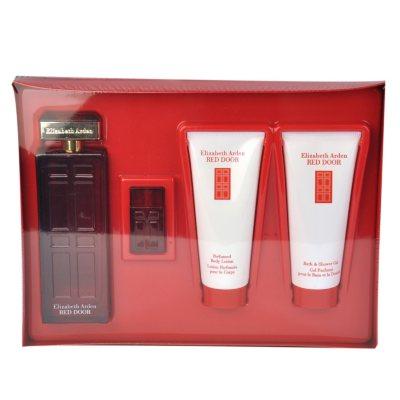 Red Door by Elizabeth Arden, 4 pc. Fragrance Gift Set for Her.  Ends: Nov 28, 2014 12:25:00 AM CST