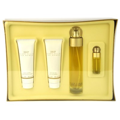 360 for Women by Perry Ellis, 4 pc. Fragrance Gift Set for Her.  Ends: Nov 21, 2014 5:58:00 PM CST
