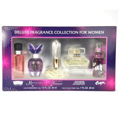 Deluxe Fragrance Assortment, 5 pc. Fragrance Gift Set for Her.  Ends: Nov 24, 2014 6:25:00 AM CST