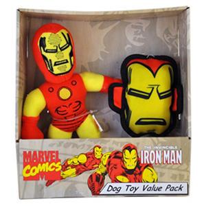 Iron Man Dog Tug Toy