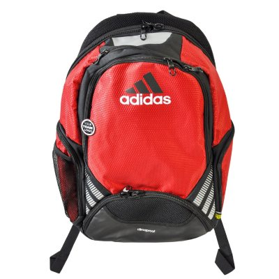 Adidas Team Speed BackPack, Red.  Ends: May 31, 2016 5:00:00 AM CDT