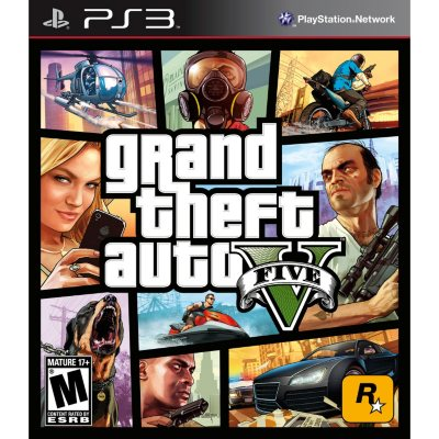 Grand Theft Auto V (PS3).  Ends: Apr 25, 2014 12:10:00 PM CDT
