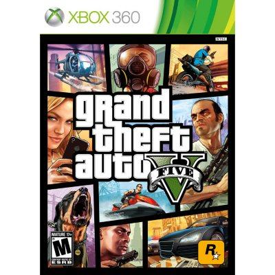 Grand Theft Auto V (Xbox 360).  Ends: Apr 24, 2014 12:55:00 AM CDT