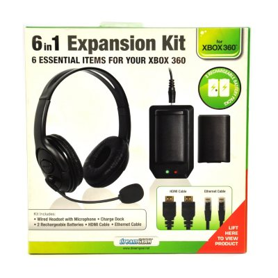 dreamGear 6 in 1 Expansion Kit (Xbox 360).  Ends: Mar 31, 2015 6:45:00 AM CDT