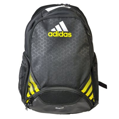 Adidas Team Speed BackPack, Yellow/Black.  Ends: May 5, 2016 8:00:00 AM CDT