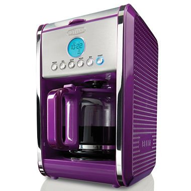 Bella Dots 12-Cup Coffee Maker - Purple
