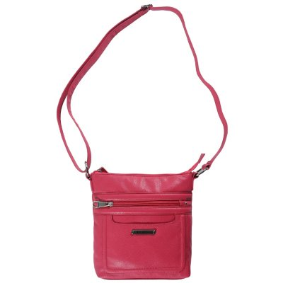 Stone Mountain Madison Crossbody Bag, Pink.  Ends: Feb 27, 2015 12:20:00 AM CST