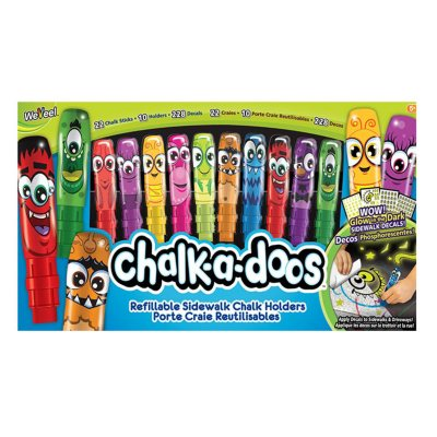 Chalk-a-doos Glow-in-the-Dark Sidewalk Chalk.  Ends: Jun 30, 2016 3:00:00 PM CDT