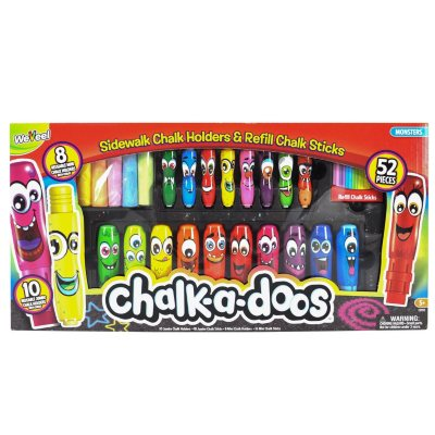 Chalk-a-Doos Deluxe Chalk Monsters Sidewalk Chalk.  Ends: Jul 31, 2016 5:00:00 AM CDT