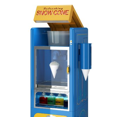 Authentic Throwback Appliance Company Deluxe Snow Cone Station.  Ends: Jul 6, 2015 10:00:00 PM CDT