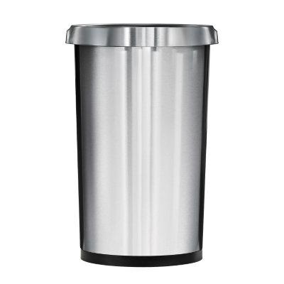 Tramontina Round Stainless Steel Trash Bin (13 gal)