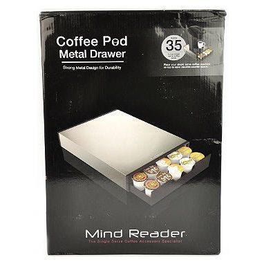 Mind Reader Tinny K-Cup Drawer Organizer, White