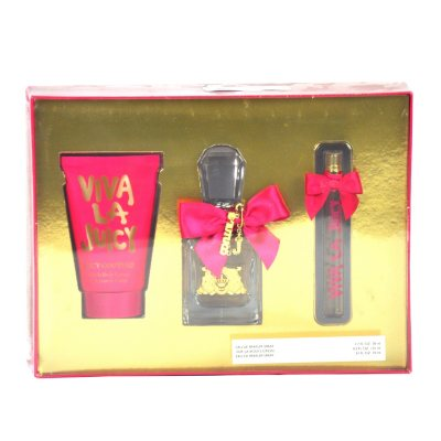 Juicy Couture Viva la Juicy Gift Set for Women (3 pc).  Ends: Aug 30, 2015 9:45:00 PM CDT