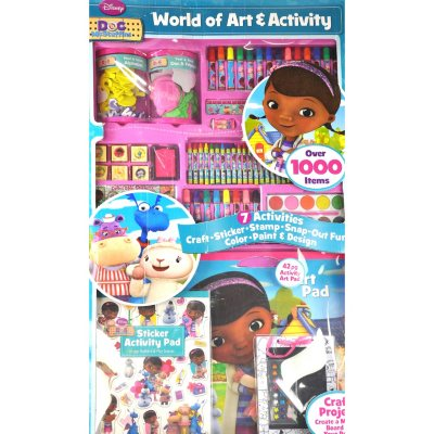 Disney Princess & Doc Arts & Craft Set.  Ends: May 28, 2015 11:45:00 AM CDT