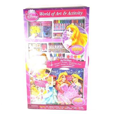 Disney Princess & Doc Art Set.  Ends: May 27, 2015 11:10:00 AM CDT