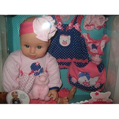 "18"" Growing Up Great Vinyl Baby Doll, On the Farm.  Ends: Apr 1, 2015 12:00:00 AM CDT"