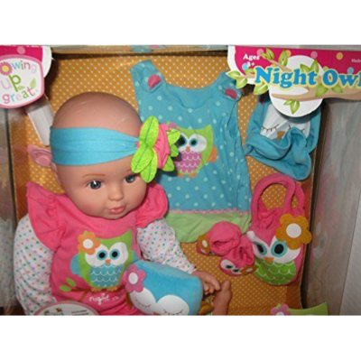 "18"" Growing Up Great Vinyl Baby Doll, Night Owl.  Ends: Apr 1, 2015 12:00:00 AM CDT"