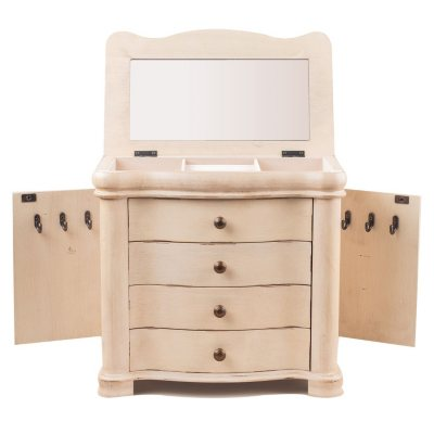 Hives & Honey Austyn Jewelry Chest - White.  Ends: Sep 1, 2015 1:30:00 AM CDT