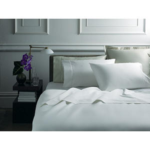 hotel luxury reserve collection 1 000 thread count sheet set ivory king auctions. Black Bedroom Furniture Sets. Home Design Ideas