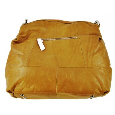B. Makowsky Leather Hobo - Light Brown.  Ends: Apr 28, 2015 9:00:00 PM CDT
