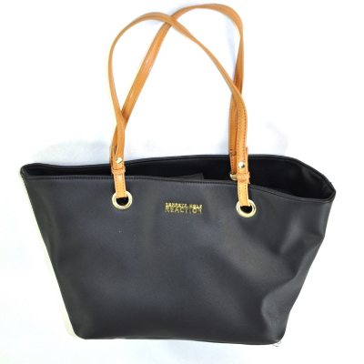 Kenneth Cole Reaction Double Handle Tote, Black