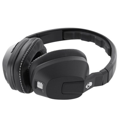 Skull Candy Crusher Headphones with Mic & Remote, Black.  Ends: Jul 30, 2015 10:06:00 PM CDT