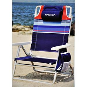 Nautica Beach Chair Striped Samsclub Com Auctions