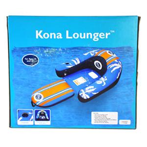 Kona Lounger Pool Float Orange Samsclub Com Auctions