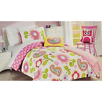 Morgan Home Fashions Kid's Bedding Set, Owl (Full)