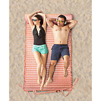 Beach Bed for Two, Coral