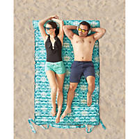 Beach Bed for Two, Turquoise